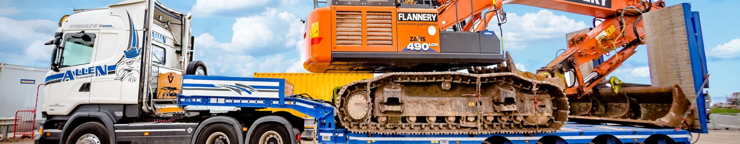 Allen Transport Excavators