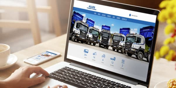 Allen Transport website