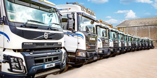 Logistics fleet Aberdeen