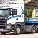 Allen Transport low loader close-up